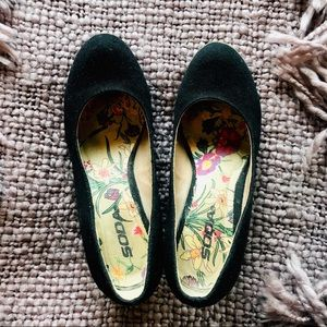 Shoes - Wedge ballerinas Size 6